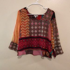 Patrons of Peace Boho Layered Blouse